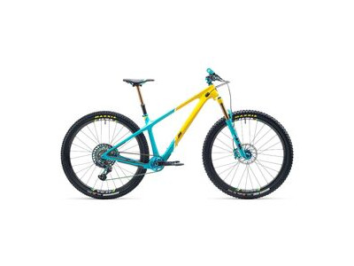 "Yeti Cycles ARC Anniversary 29"" Bike 2021 Turquoise / Yellow"